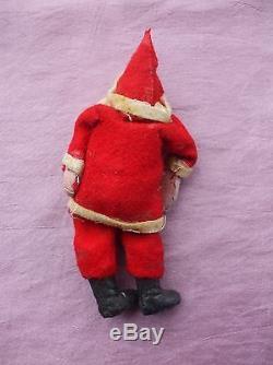 Antique Santa Claus Sleigh & Reindeer Team Composition Germany Reindeer Harness