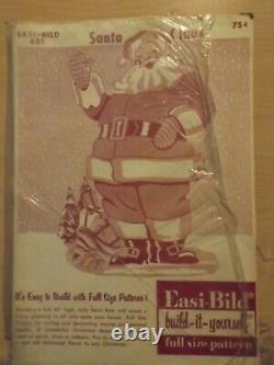 Easi-Bild Patterns Christmas Vintage #'s 431,433,434 Santa, Sleigh & Reindeer