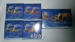 Hallmark 2005 Santa's Midnight Ride -Complete with 8 Reindeer & Santa in Sleigh