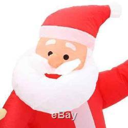 Inflatable Santa Reindeer Christmas Decor Sleigh Lighted Airblown Outdoor Gemmy