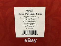 Jim ShoreMagic Takes Flight Musical Masterpiece Sleigh Santa & Reindeer 4017630