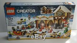 LEGO 10245 Winter village Christmas SANTA'S WORKSHOP ELF REINDEER SLEIGH SET NEW