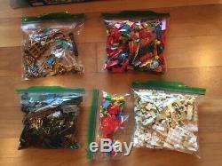 LEGO Santa's Workshop 10245 Reindeer, Elves, Sleigh, House Used Complete