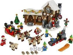 LEGO Winter village Christmas SANTA'S WORKSHOP 10245 ELF REINDEER SLEIGH SET NEW