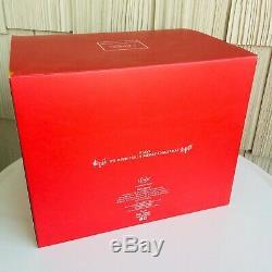Lenox 2012 Holiday Musical Snow Globe 9 Centerpiece Santa Sleigh Reindeer Rare