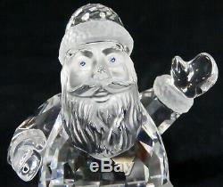 Lot 3 Swarovski Crystal Reindeer & Sleigh on Mirror Christmas Santa Claus 221362