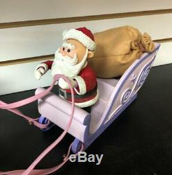 Memory Lane Rudolph & Island Misfit Toys Santa's Sleigh & Reindeer Team