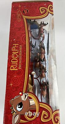 New & Sealed Forever Fun RUDOLPH THE RED NOSED REINDEER Santa's Musical Sleigh