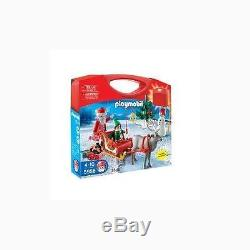 PLAYMOBIL Santa with Sleigh and Reindeer Playset Toy Figure Playsets