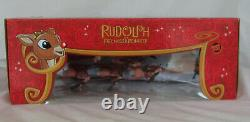 Rudolph Red Nosed Reindeer Santa's Musical Sleigh ForeverFun -Tested Works