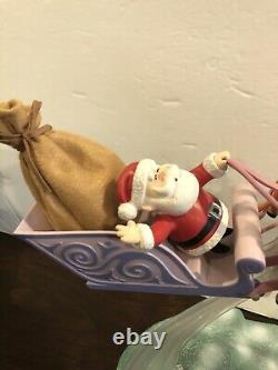Rudolph the Red Nosed Reindeer Santa's Sleigh and Reindeer Memory Lane