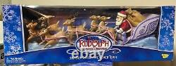 Rudolph the Red Nosed Reindeer Santa's Sleigh and Reindeer Team Memory Lane