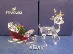 Swarovski Christmas Santa's Sleigh & Reindeer