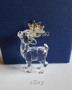 Swarovski Crystal as Set Santa Claus, Santa's Reindeer, & Santa's Sleigh