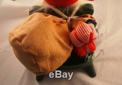 Thomas Dam Troll Santa with Sleigh & Reindeer LE Set Brand New w Tag Rare HTF