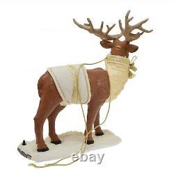 Traditions Holiday Animated Santa Reindeer & Sleigh