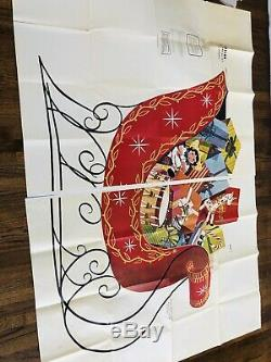 U-BILD Christmas Pattern LOT Of 25 SANTA, MRS SANTA, SLEIGH, Reindeer, Snowman, Caro