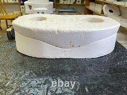 Vintage Kimple Ceramic Mold #1633 Base For Santa And Sleigh/reindeer